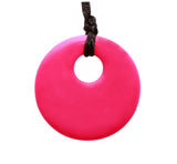 Pendant Necklace Magenta Pink