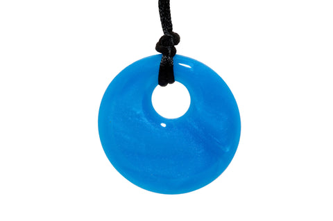 Pendant Necklace Blue