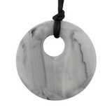 Pendant Necklace Marble