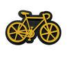 Yellow Bicycle Brooch