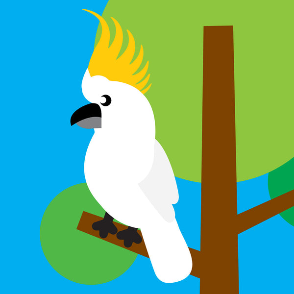 Cockatoo card