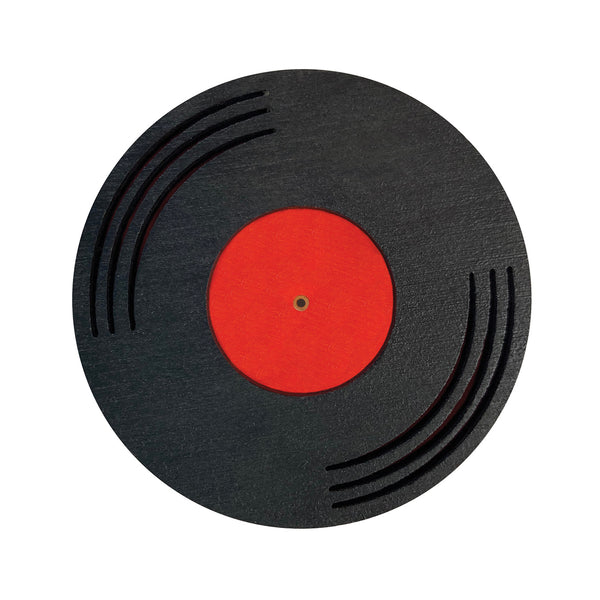 Retro Vinyl Record laser cut Brooch