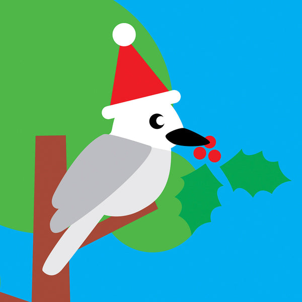 Kookaburra Christmas card