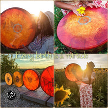 Custom made drum, Shaman drum,Frame drum, Hand drum, Hand percussion