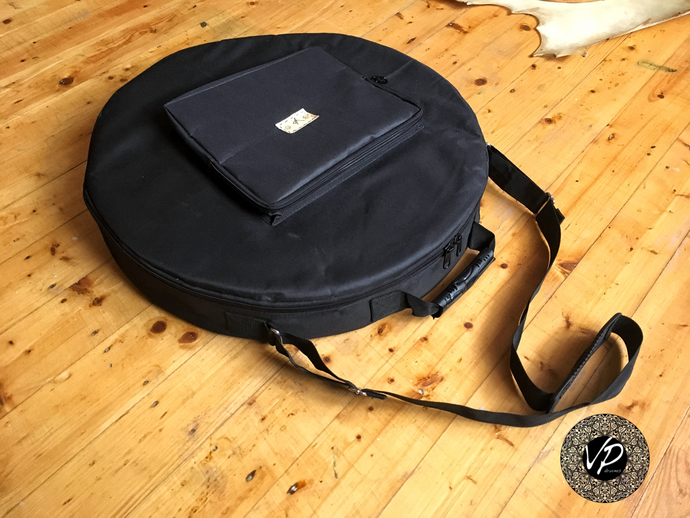 20' Professional drum case, Black, well padded, water-resistant Case, Protection bag, Travel bag, Drum bag - VPdrums