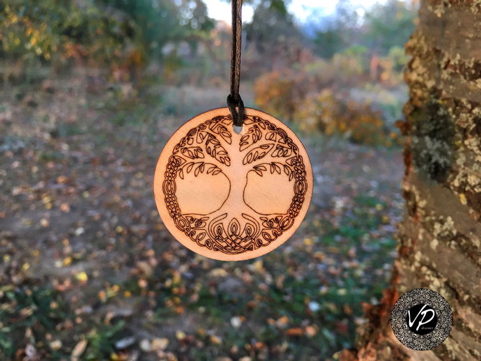 Tree of life Amulet, Talisman, Magical necklace with powerful symbol - VPdrums