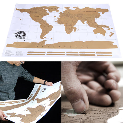 Scratch Off Travel World Map