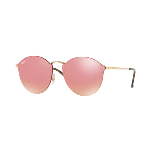 Ray Ban 3574 - Gold With Pink Mirror