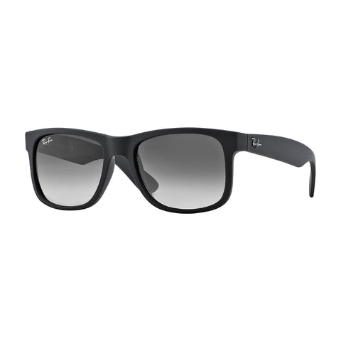 Ray Ban 4165 - Rubber Black with Green