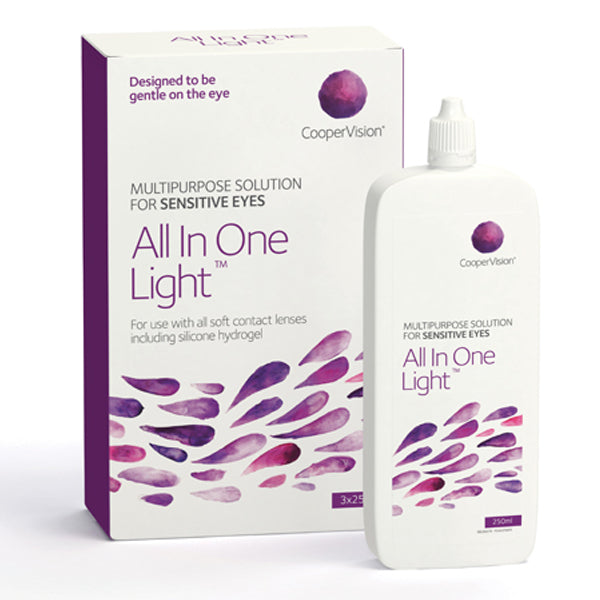 Contact Lens Solution Sauflon All-In-One-Light