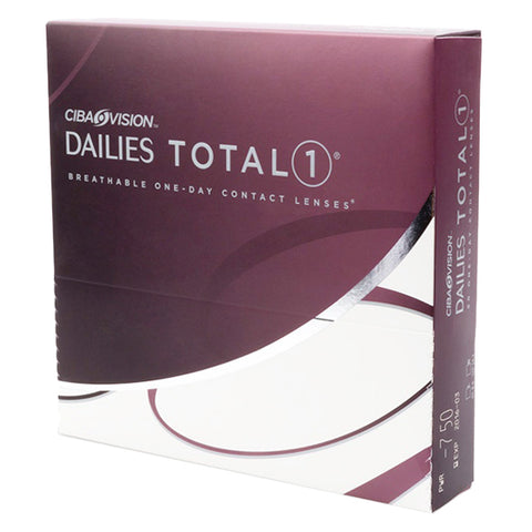 Total 1 Dailies - 90 Pack