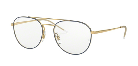 Ray Ban - 6414 - Gold Top Blue
