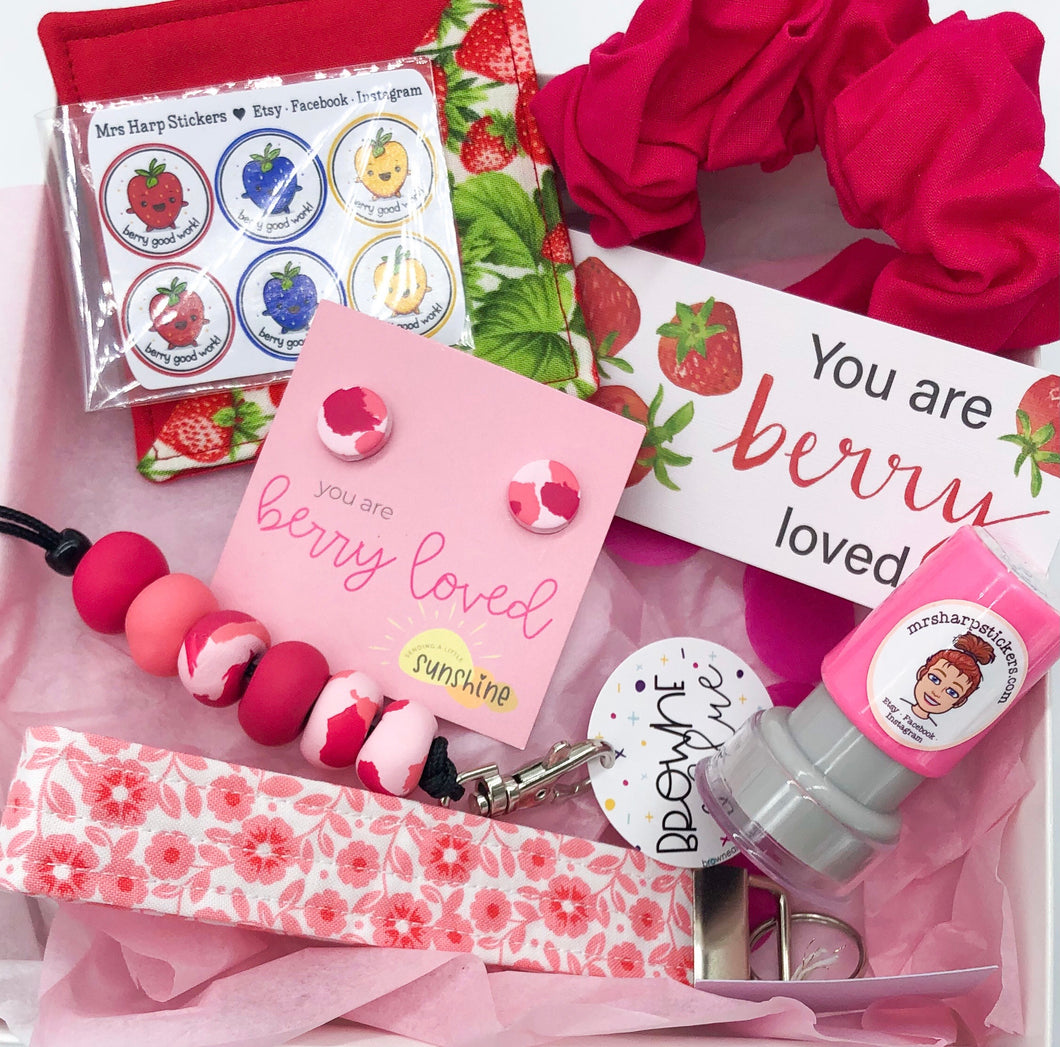 Berry Loved - Teacher Box - free additional BERRY LOVED lanyard