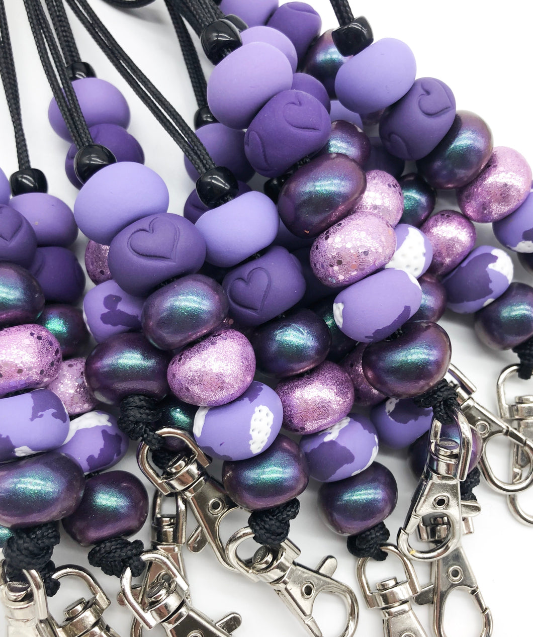 Purple Bliss Lanyards