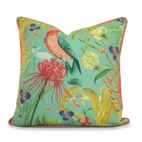 Pesso Cushion Big Parrot Print
