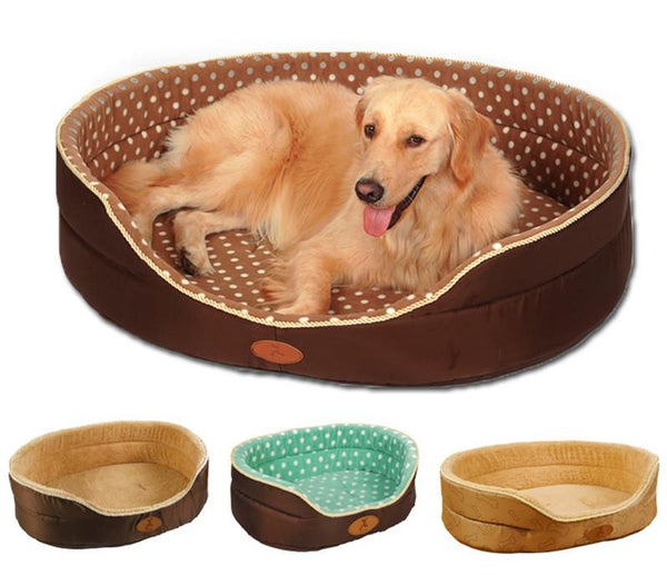 All Seasons Pet Bed with FREE Bone Pillow