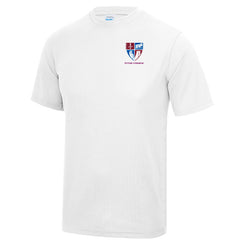 Foyle College Senior White PE Tee