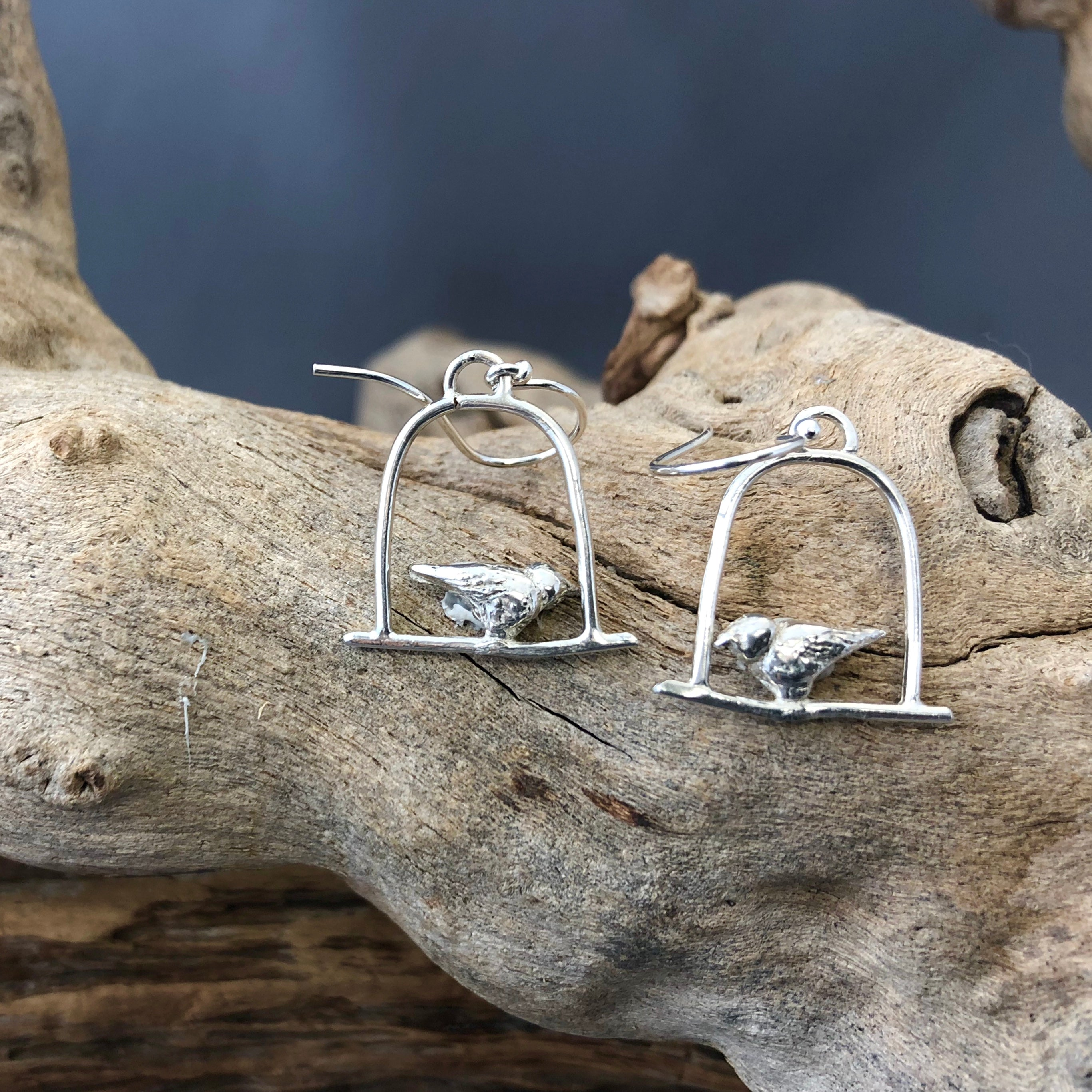 Birds on a Wire Earrings