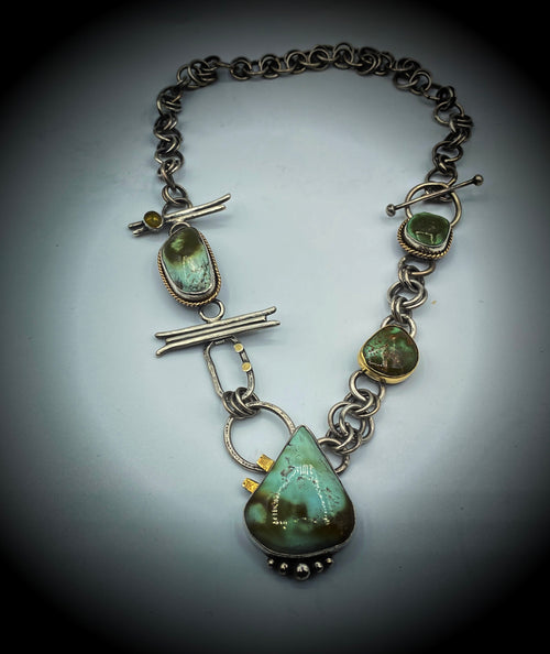 Exotic Turquoise Necklace