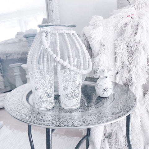ARVA Living items in the white boho home of Hege @bohemianair on Instagram