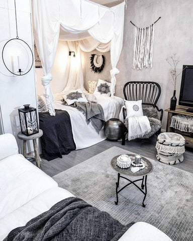 ARVA Living items in the scandi-boho home of Satu @31_m2 on Instagram