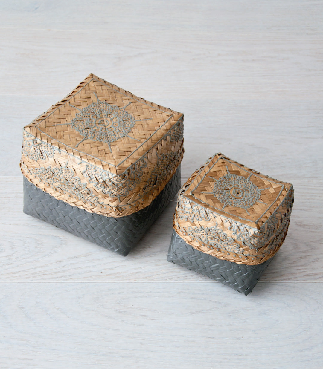 ABU bali basket set M & S - boxes - ARVA Living