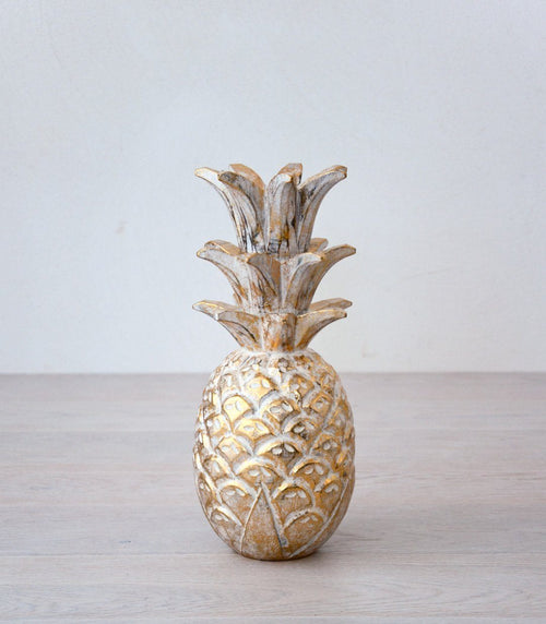 ANA decor pineapple gold - objects - ARVA Living