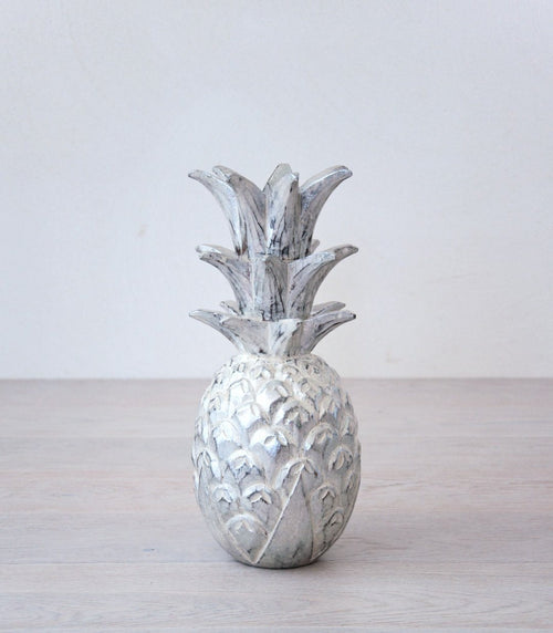 ANA decor pineapple silver - objects - ARVA Living