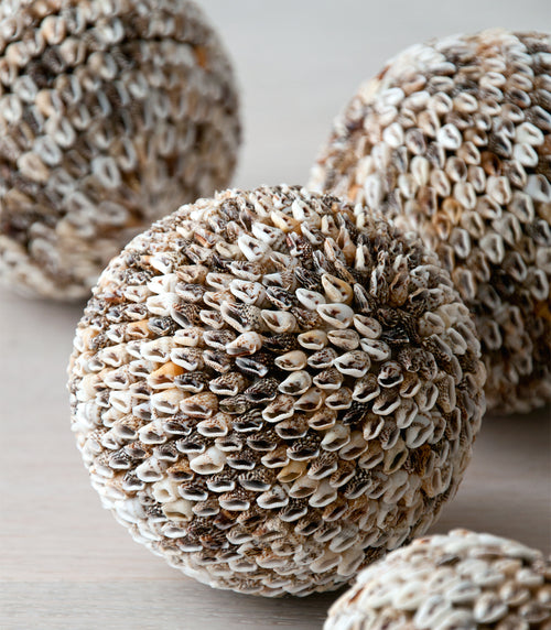 KARA shell ball natural - objects - ARVA Living
