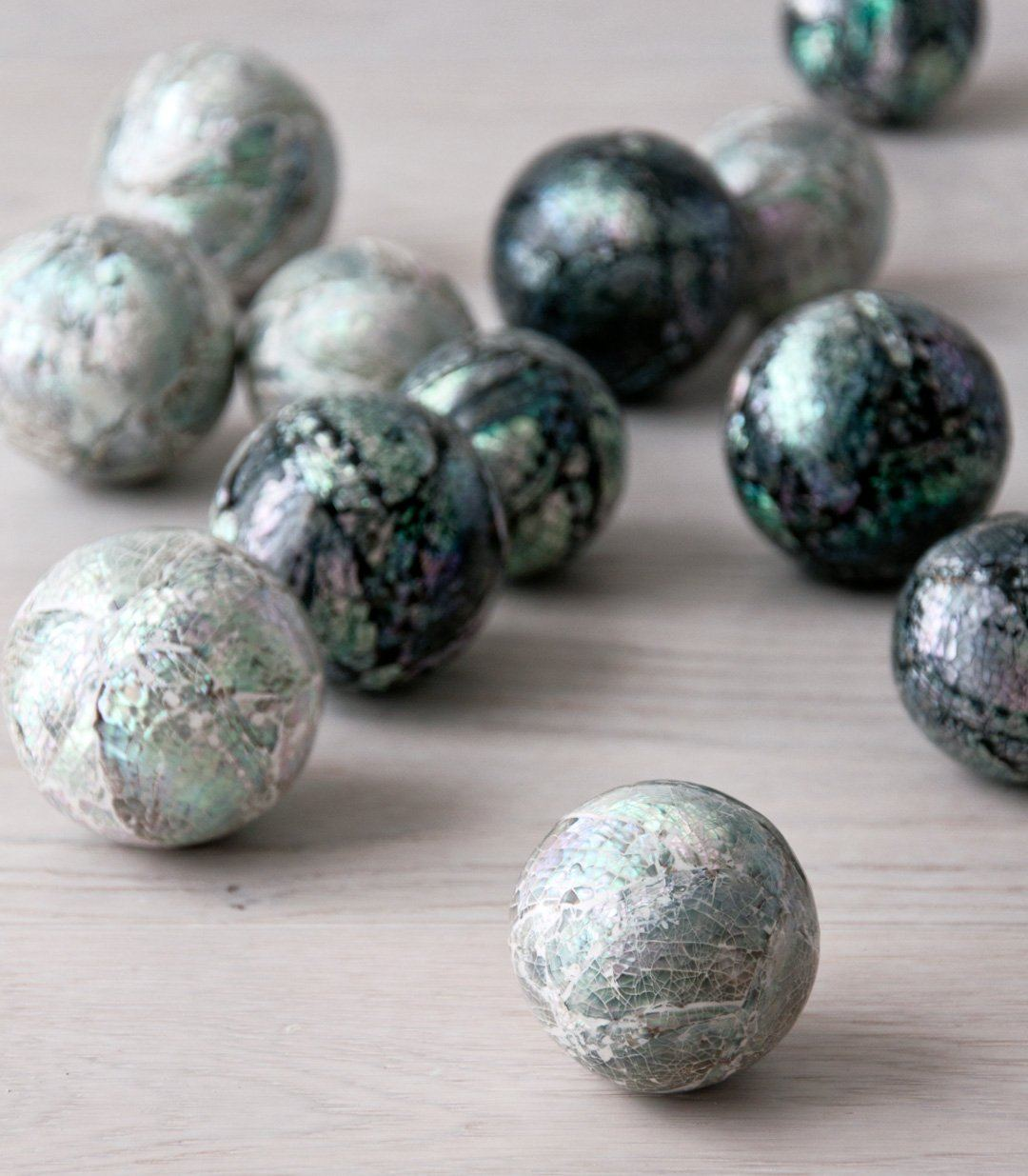 LOLA shell decor ball - objects - ARVA Living