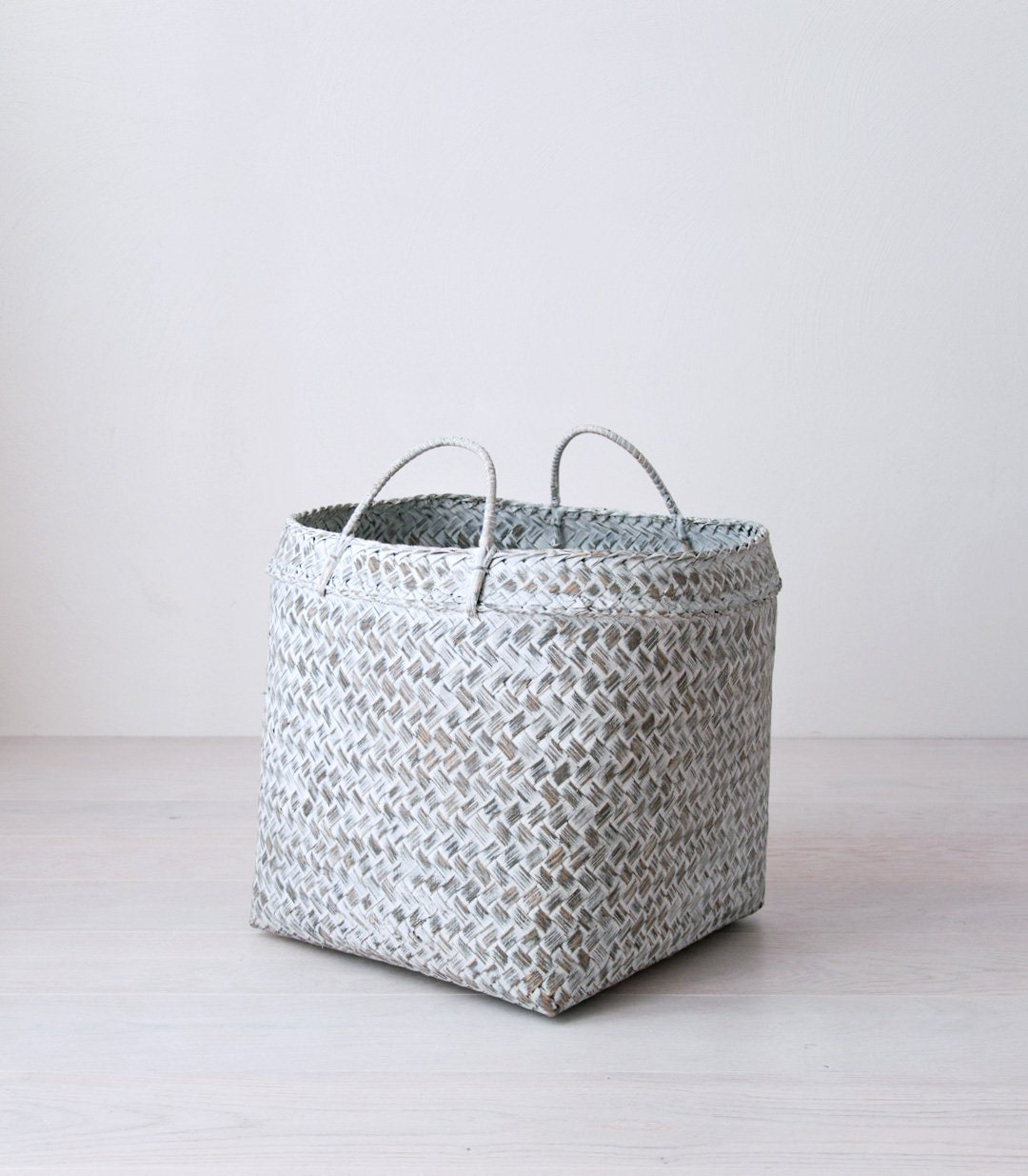 MARGA bamboo basket grey - baskets - ARVA Living