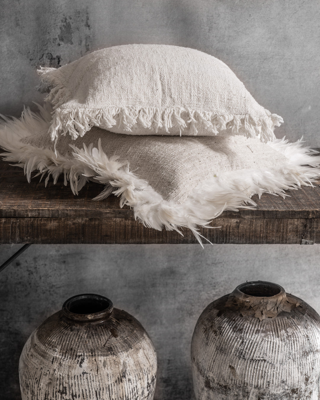 IVY cushion cover sand - cushions - ARVA Living