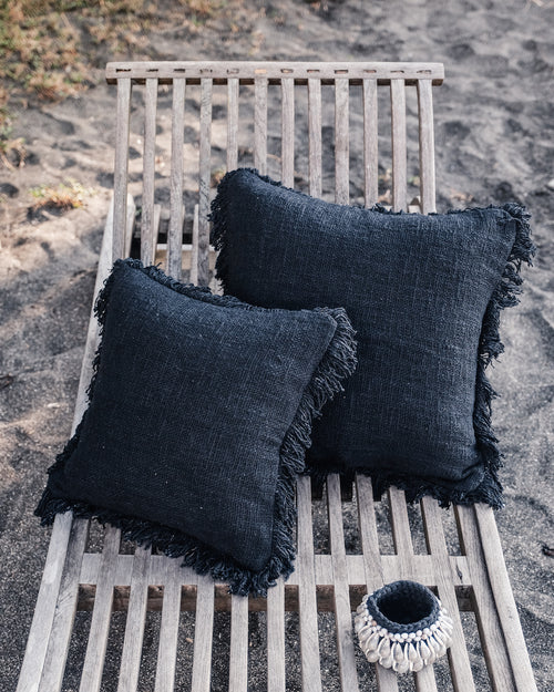 RAWA cushion cover volcano black - cushions - ARVA Living