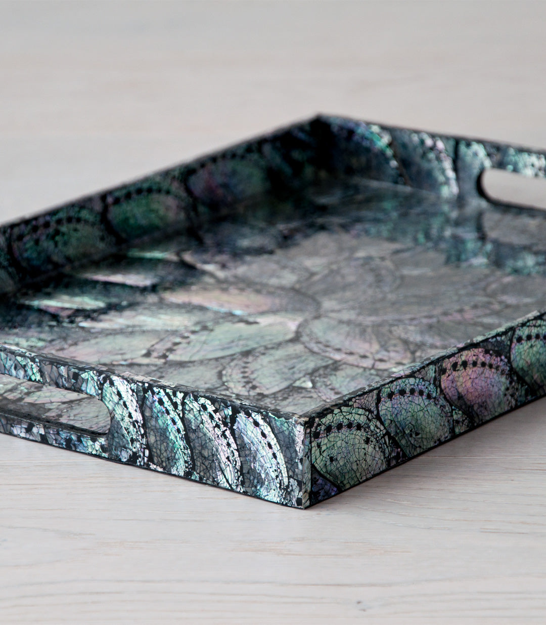 REZA shell tray - trays - ARVA Living