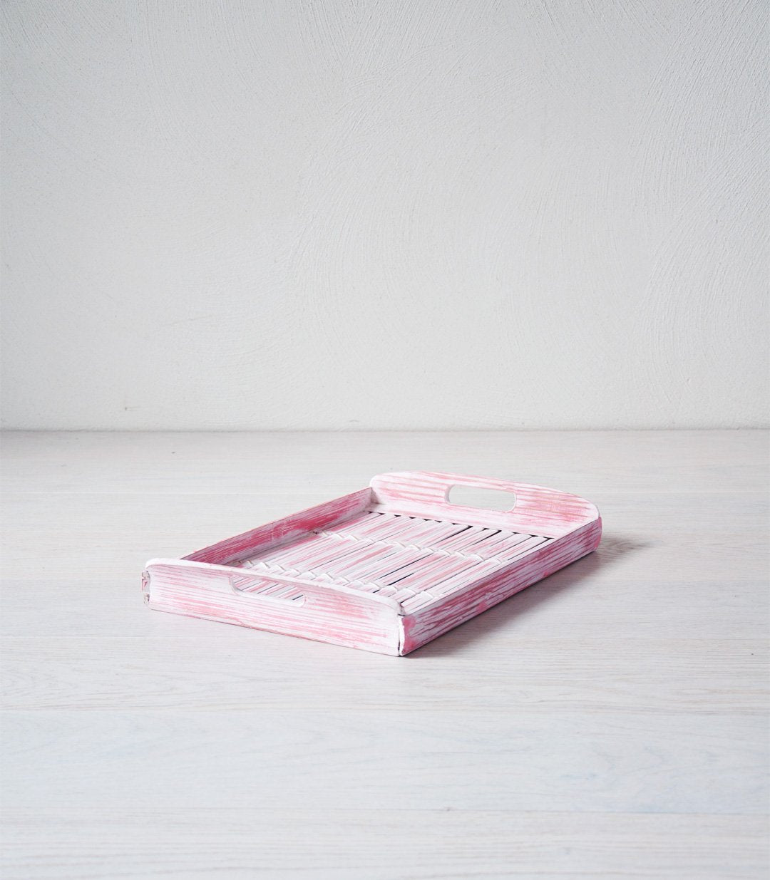 DAISIE bamboo tray pink - trays - ARVA Living
