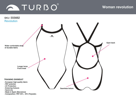 Tailor-Made - Women Swim Suit - Thin Straps - Revolution (Pre-Order)