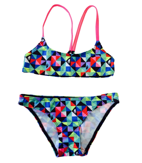 Women Swim Suit - Bikini Mini - Origami (Print) - Top & Bottom