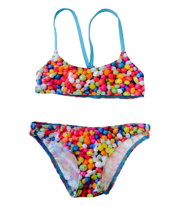 Women Swim Suit - Bikini Mini - Gummy (Print) - Top & Bottom