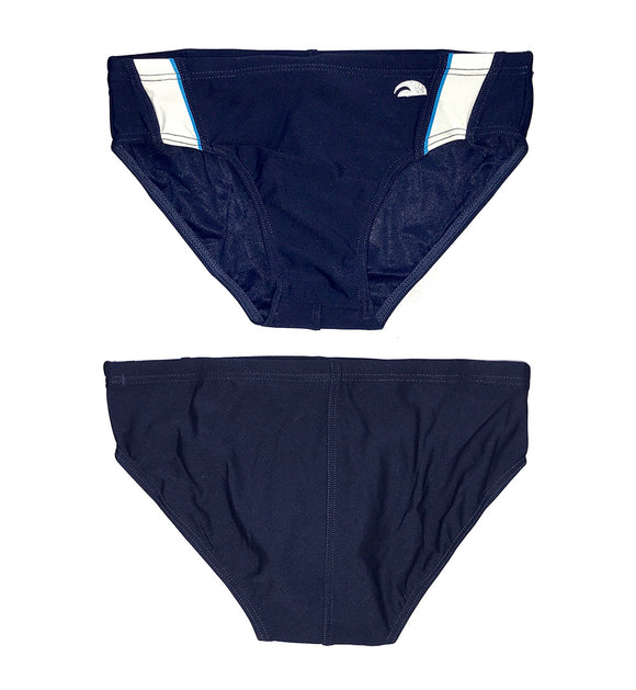 Boys Swimming Trunks - Competition Duratech (Navy) Made In China