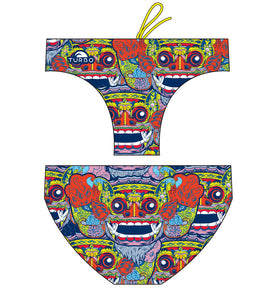 WP Men Trunks - Bali Tribal (Navy)