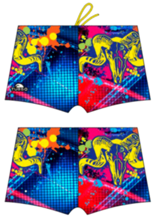 Men Boxer - Full Print - Ram (Royal)