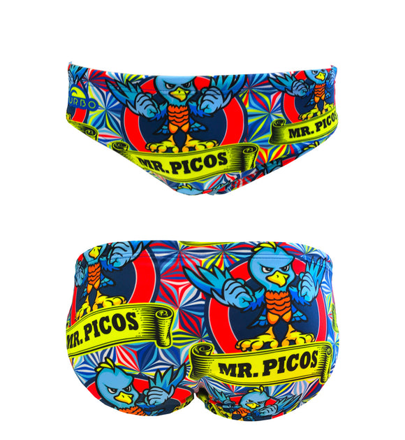 Boys Swimming Trunks - Mr. Picos (Royal)