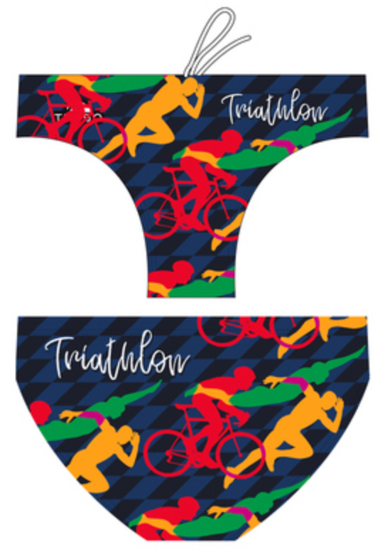 WP Boys Trunks - Triathlon Race (Navy)