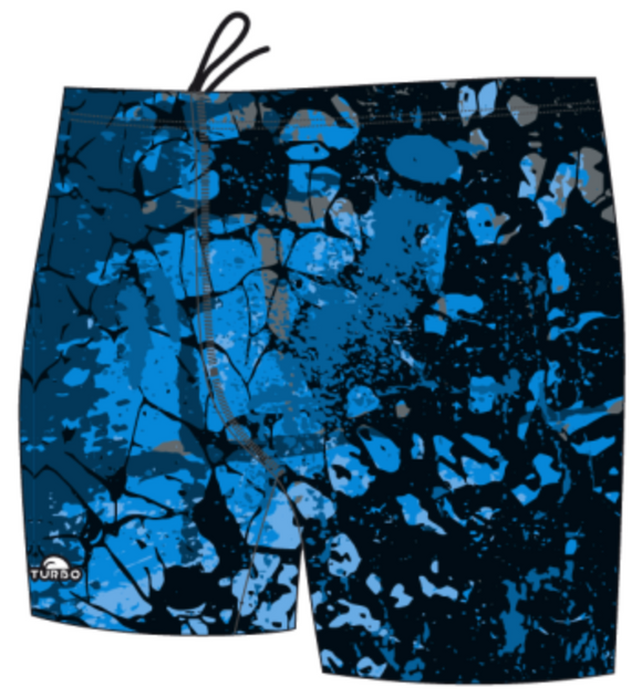 Boys Jammer Full-Print - Wintering (Navy)
