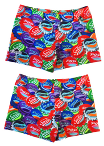Boys Boxer - Full-Print - Soda Pop (Red)