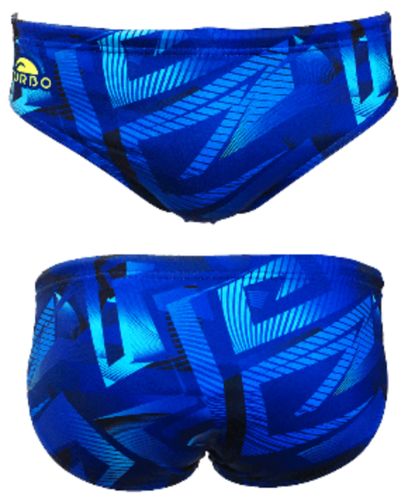 WP Men Trunks - Spiral (Royal)