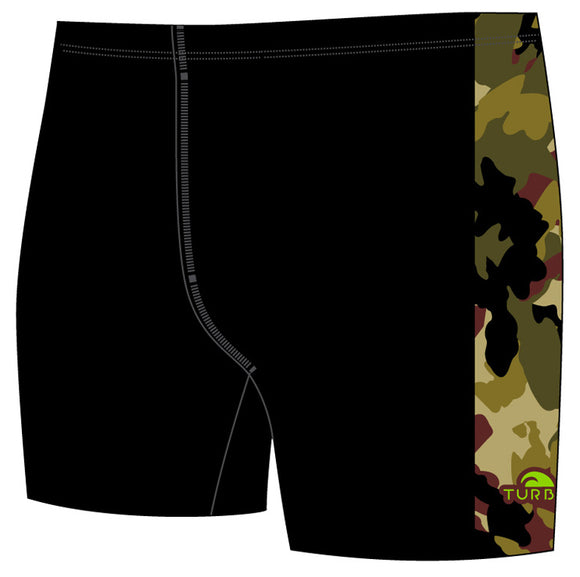 Men Jammer Band-Print - Commando (Black)