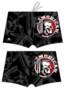 Men Boxer - Full Print - Mohican (Black)