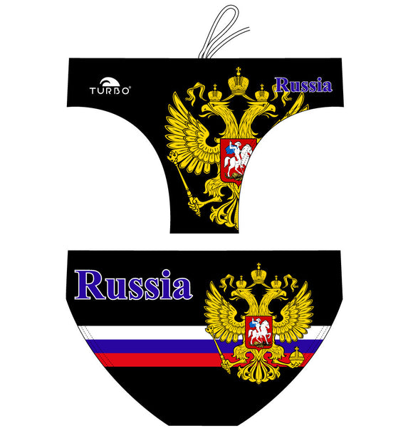 WP Boys Trunks - Russia (Black)