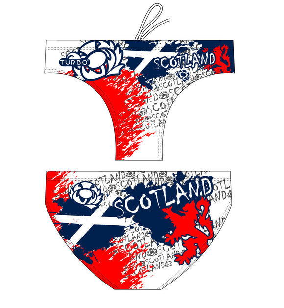 WP Boys Trunks - Scotland 2012 (White)